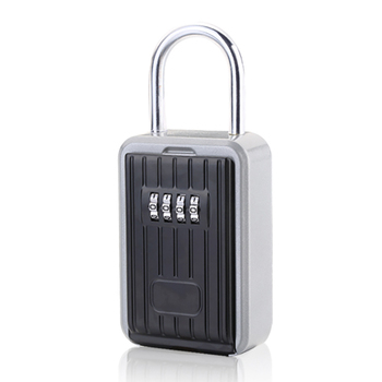 Wall Mounted Hidden Key Storage Secret Organizer Boxes with 4 Digit Combination Password Lock House Car Spare Keys Safe