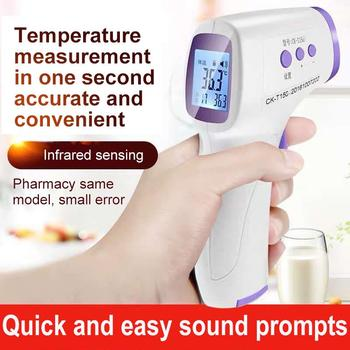 Forehead Non Contact Infrared Baby Thermometer LCD Body Temperature Fever Digital IR Measurement Thermometer