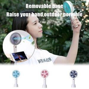 Мини портативный карманный вентилятор, крутой Воздушный Ручной охладитель для путешествий, охлаждающий мини-вентилятор, мощность 12000 мАч, а...