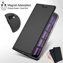 Funda tipo billetera de cuero con tapa magnética para Huawei P20 P30 Lite Honor 20 Pro 10i 20i 9X P Smart Plus 2019, funda con portatarjetas
