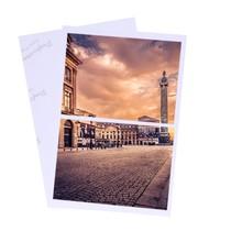 Nova chegada 30 folhas brilhante 4r 4x6 foto papel para a impressora a jato de tinta suprimentos papel de impressão