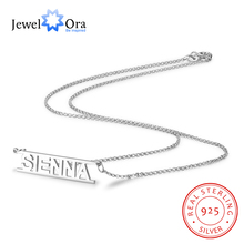 цены 925 Sterling Silver Personalized Name Necklace Custom Name Mother Necklaces & Pendant Customized Gift Jewelry(JewelOra NE101461)