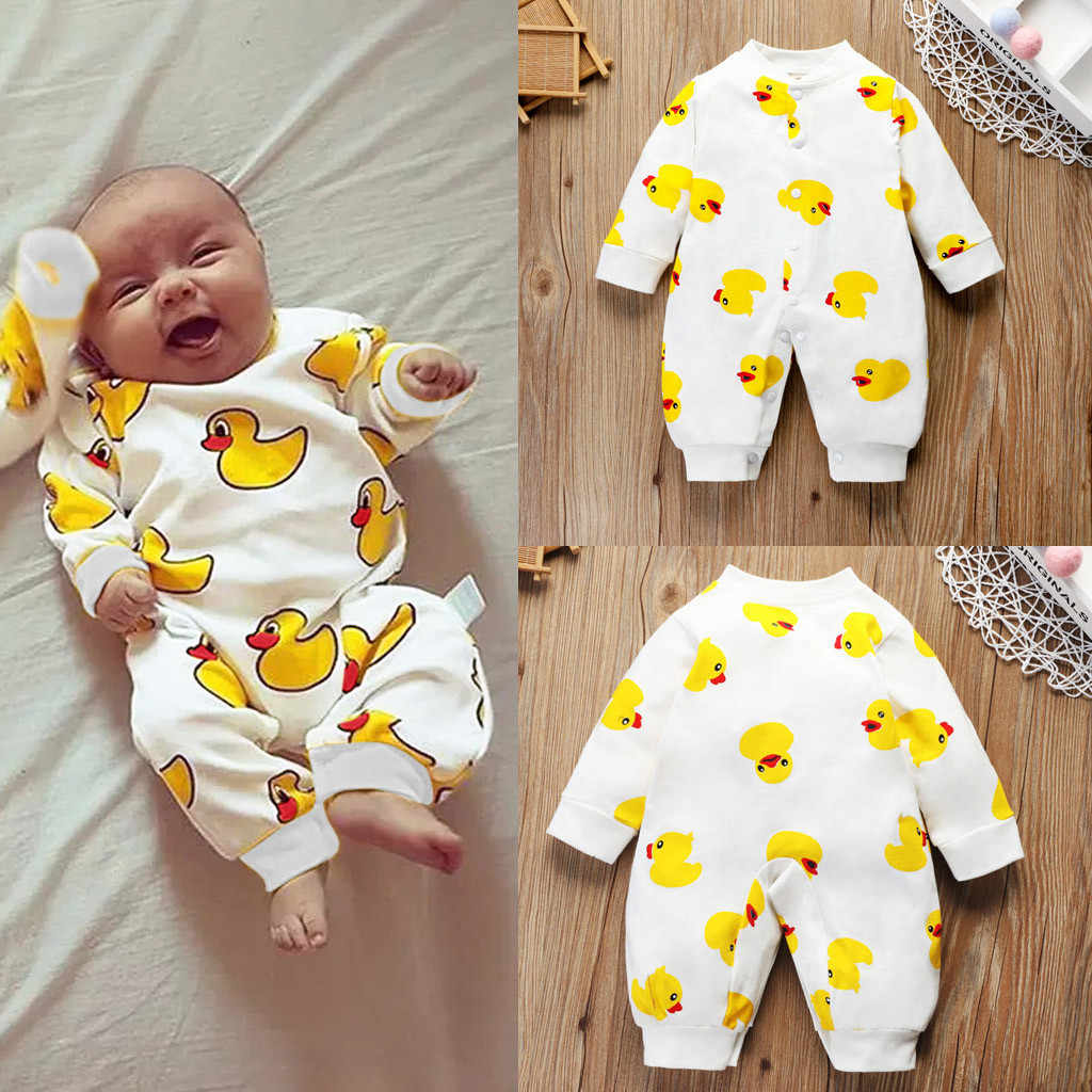 Baby Romper For Toddler New Style Newborn Boy Girl Cartoon Romper Baby O-Neck Jumpsuit Unisex Outfit Clothes комбинезон детский