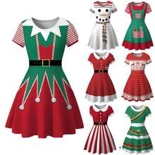 Очаровательное платье женское зимнее рождественское красное платье с принтом снеговика 1950s винтажный костюм качели вечерние платья зимнее платье femme# guahao