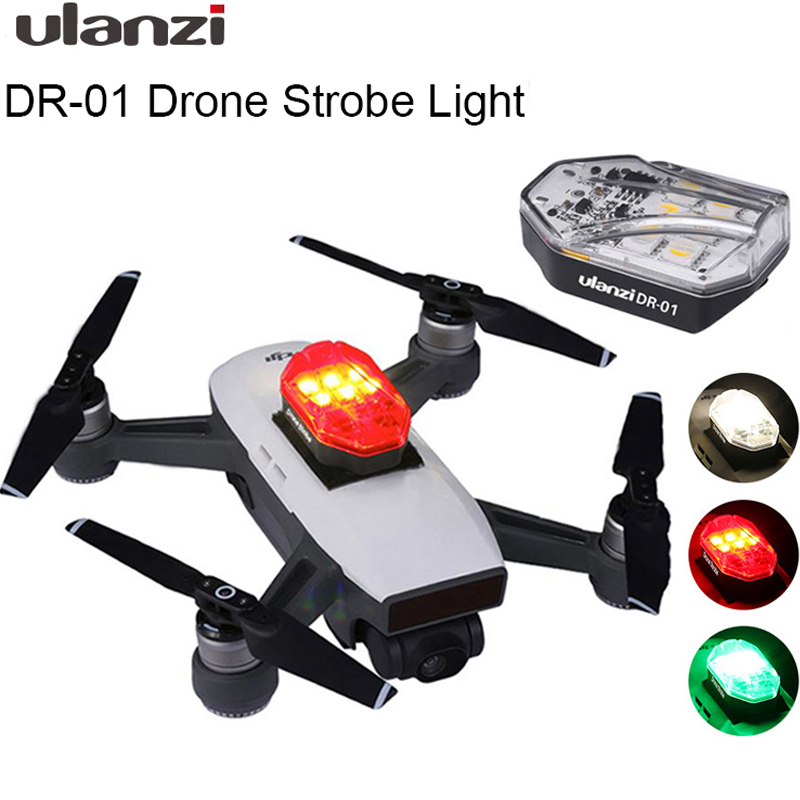 Ulanzi DR-01 Drone Strobe Light Red Green White Light Source Night Navigation Light For DJI MAVIC MINI Universal Drone Accessory
