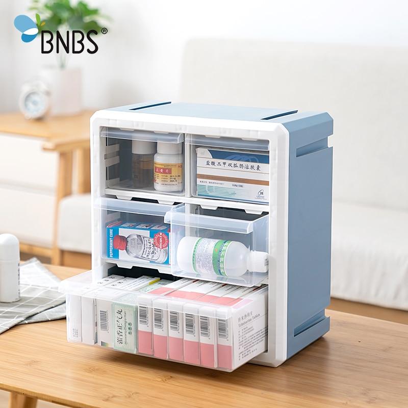 3/5 grids medicina kit caixa de armazenamento organizador wall-mounted pílula caso drogas recipiente de plástico medicina peito acessórios para casa