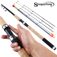 Sougayilang L M H Power Feeder fishing rod telescopic spinning casting Travel Rod3.0M 3.3M 3.6M de pesca Carp Feeder pole