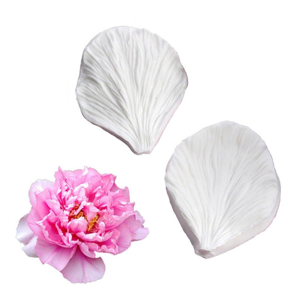 Пионовые розы, лепестки, искусственные цветы, украшение для торта, шоколад, мастика, глина, холодный фарфор