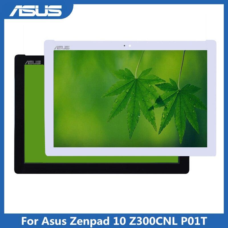 Assemblée en verre de numériseur d'écran tactile d'affichage à cristaux liquides pour la réparation d'écran de tablette d'asus Zenpad 10 Z300CNL P01T pour Asus Z300CNL P01T