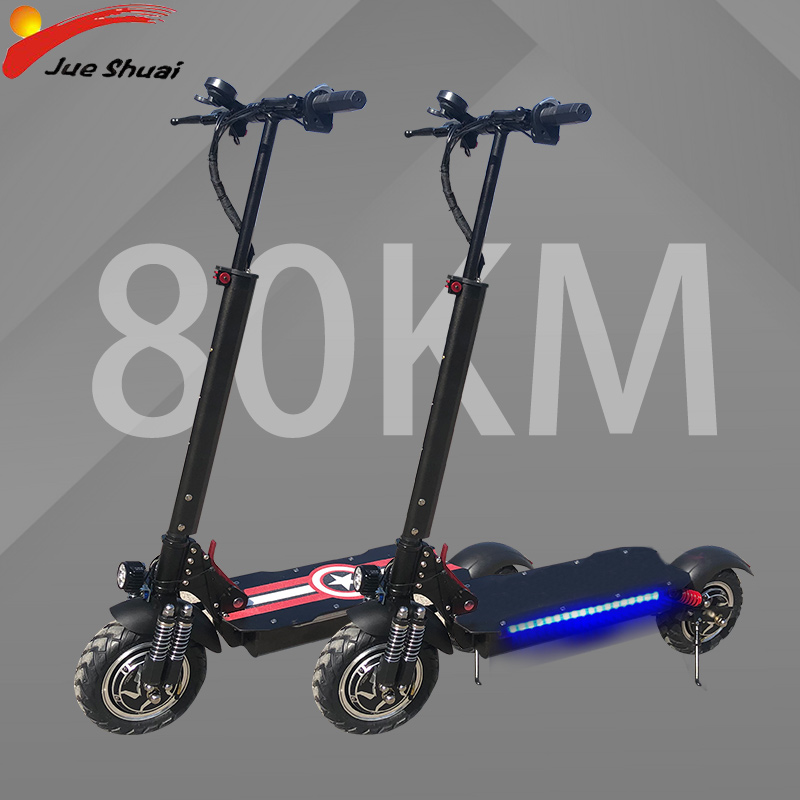 <font><b>ELectric</b></font> <font><b>Scooter</b></font> Fat Tire 48V <font><b>1000W</b></font> Double Engine Motors E <font><b>Scooter</b></font> Foldable Adults with 20ah Lithium Battery <font><b>Electric</b></font> Skateboard image