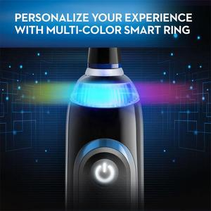 Image 2 - 구강 B 9000 전동 칫솔 블루투스 기술 위치 감지 6 모드 12 색 스마트 링 우수한 클린 칫솔
