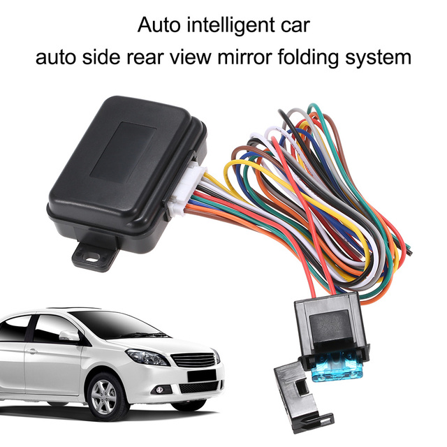 Sistema de dobramento do espelho retrovisor lateral do carro inteligente automático