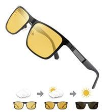 FENCHI-gafas de visión Nocturna para hombre, lentes polarizadas antideslumbrantes, amarillas, visión Nocturna para conducción, para coche