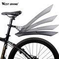 WEST BIKING быстросъемные крылья для горного велосипеда 2 шт. переднее заднее крыло для велосипедного велосипеда 24 26 27,5 29 дюймов MTB Велосипедное к...