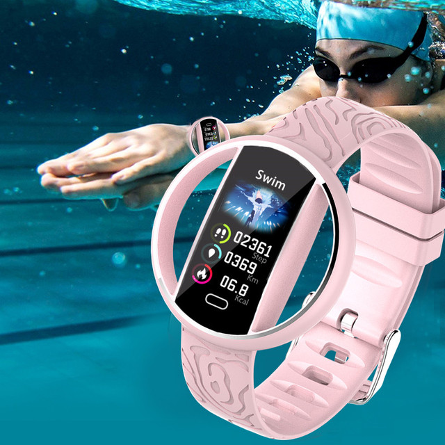Women Smart Watch IP68 Waterproof LED andriod ios