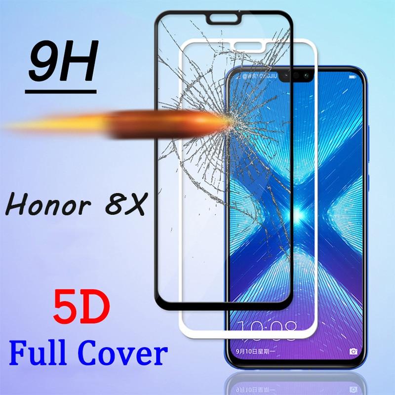 2 pièces 9D courbé couverture complète verre de protection pour Honor 8X écran avant Film verre trempé pour Huawei Honor 8X Max 8A Pro 8C Film