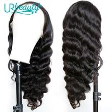 Loose Deep Wave 13X4 Lace Wig Brazilian Human Hair