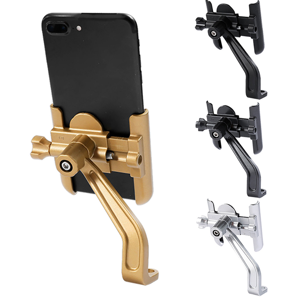 Aluminum Alloy Bicycle Cycling Mobile Phone Holder Bracket For Motorcycle Bike