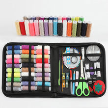 144Pcs Naaien Kits Diy Multifunctionele Naaien Box Set Voor Hand Quilten Stiksels Borduurgaren Naaien Accessoires Mom geschenken(China)