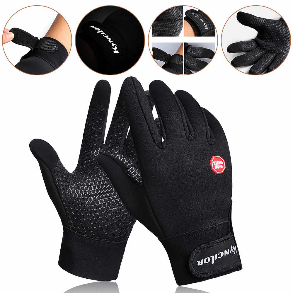 Men Women Tactical Glove Non-Slip Winter Outdoor WindProof Motorcycle Ski Riding Warm Climbing Outdoor protection mitten guantes