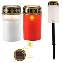 2x солнечный датчик электронные свечи авто на беспламенный чайный