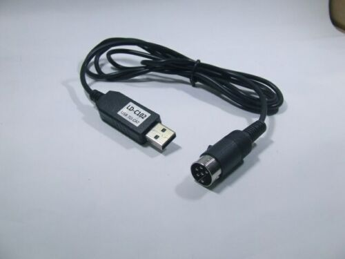 USB To CAT Din6 Cable For Kenwood TS-440 TS-450 TS-680 TS-950 TS-940 TS-850 790