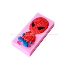 Candy Molds Pastry-Mould Baking-Tool Cake-Decoration Spider-Shape Chocolate Fondant-Cake