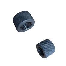 1022 10/22 алюминиевый Ругер. 223. 308 намордник тормоза адаптер 1/2x28& 5/8x24. 750 бочка конец стальной резьбой протектор комбо