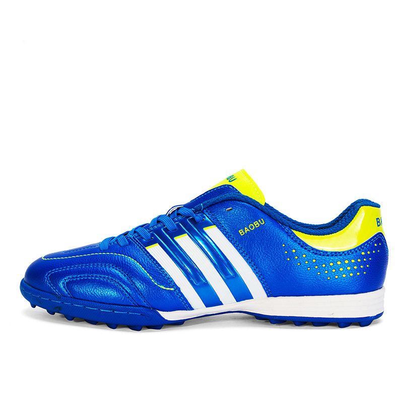 Outdoor Men Boys Soccer Shoes Kids Cleats Long Spikes Training Football Sport Shoes Sport Sneakers Size 35 44|Soccer Shoes| |  - title=