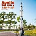Новинка 2021, креативная серия 37003, 21309, Apollo Saturn V, строительные блоки, модель ракеты, детские развивающие игрушки, подарки на день рождения