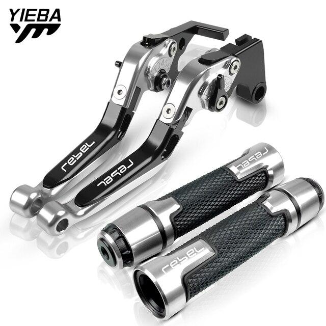 Für Honda Rebel 300 500 CMX300 CMX500 CM300 CM500 2017 2018 2019 2020 Motorrad Bremse Kupplung Hebel Lenker Handdle Griffe