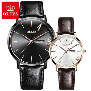 SHOWTIME lover watches for men women quartz wristwatches luxury brand stainless steel watch leather calendar week couple watch carnival new luxury fashion couple watch top brand automatic watch lovers wristwatches dual calendar week sapphire waterproof