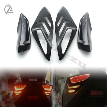 ACZ Motorcycle XMAX Front Rear Turn Signal Tail Tamp Light Cover Shell Cap for Yamaha 2017 2018 XMAX300 X-MAX 125 250 400