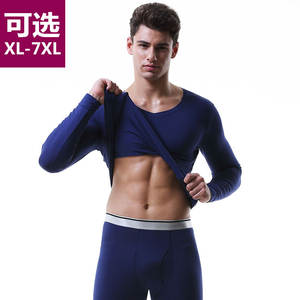 Thermal-Underwear-Sets Long-Johns Winter Cotton for Russian Canada European Plus-Size