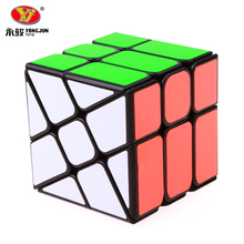 New Yongjun Wind Wheel Cubes 3x3x3 YJ Magic Speed Cube Puzzle Cubo Magico Professional Learning Educational Toys For Kids Gift