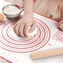 Estera para hornear de silicona de masa de Pizza de pastelería cocina Gadgets Herramientas de cocina utensilios para hornear amasar accesorios mucho
