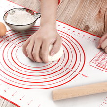 Mata silikonowa do pieczenia ciasto do pizzy ekspres do ciasta gadżety kuchenne narzędzia kuchenne naczynia do pieczenia ugniatanie akcesoria Lot