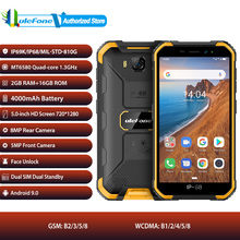 Ulefone Armor X6 Android 9.0 Mobile Phone Dual SIM 5.0inch Face Unlock Smartphone 4000mAh Battery IP68 Waterproof 3G Cellphone