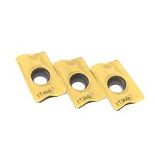 100PCS APKT1705 PER EM TT9080 Milling tool APKT 1705 carbide inserts Milling insert CNC lathe tools цена и фото