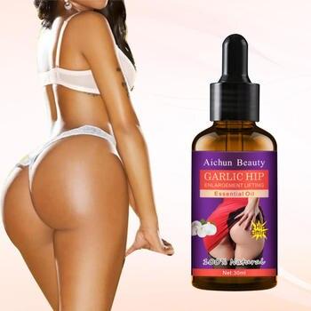 Garlic Rich Buttocks Oil Effective Hip Lift Up Butt Lift Bigger Buttock Serum Buttocks Enlargement Body Care New 1