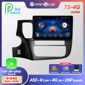 Prelingcar Android 10 DVD Car Radio Multimedia Video Player Navigation GPS For Mitsubishi Outlander 3 GF0W GG0W 2012-2018 2 din(China)