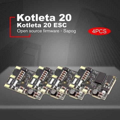 Sensor para rc Kotleta Can Bus Motores Bldc Controlador Drone Luz Veículos Aéreos Não Tripulados 40.2x27mm 4pcs 20 Esc 500w Mod. 1381159