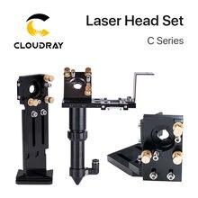 Лазерная головка cloudray co2 набор линз d18 fl381 d20fl508/635/1016