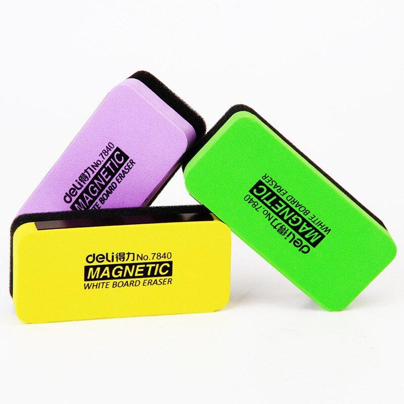 Magnetic Erasable Whiteboard Eraser Kawaii Whitebord Cleaner Markers Chalk Blackboard Erasers For Dry Erase White Board