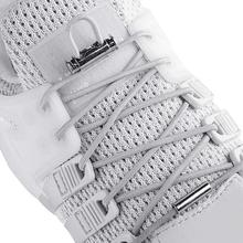 1 Pair Elastic Shoelaces Round Shoe laces No Tie Metal Spring Buckle Lock Shoelace Convenient Quick Leisure Sneakers Lazy