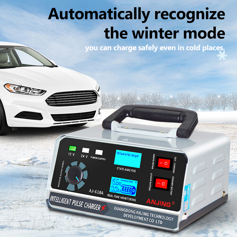 Hot Sale Battery Recharger Machine High Power Car Battery Recharger Machine Automatic Intelligent Repairing Type Battery Charge Tool