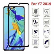 9h protetor de tela de vidro temperado para huawei y7 2019 protetor de tela para huawei y7 2019 película de vidro protetora
