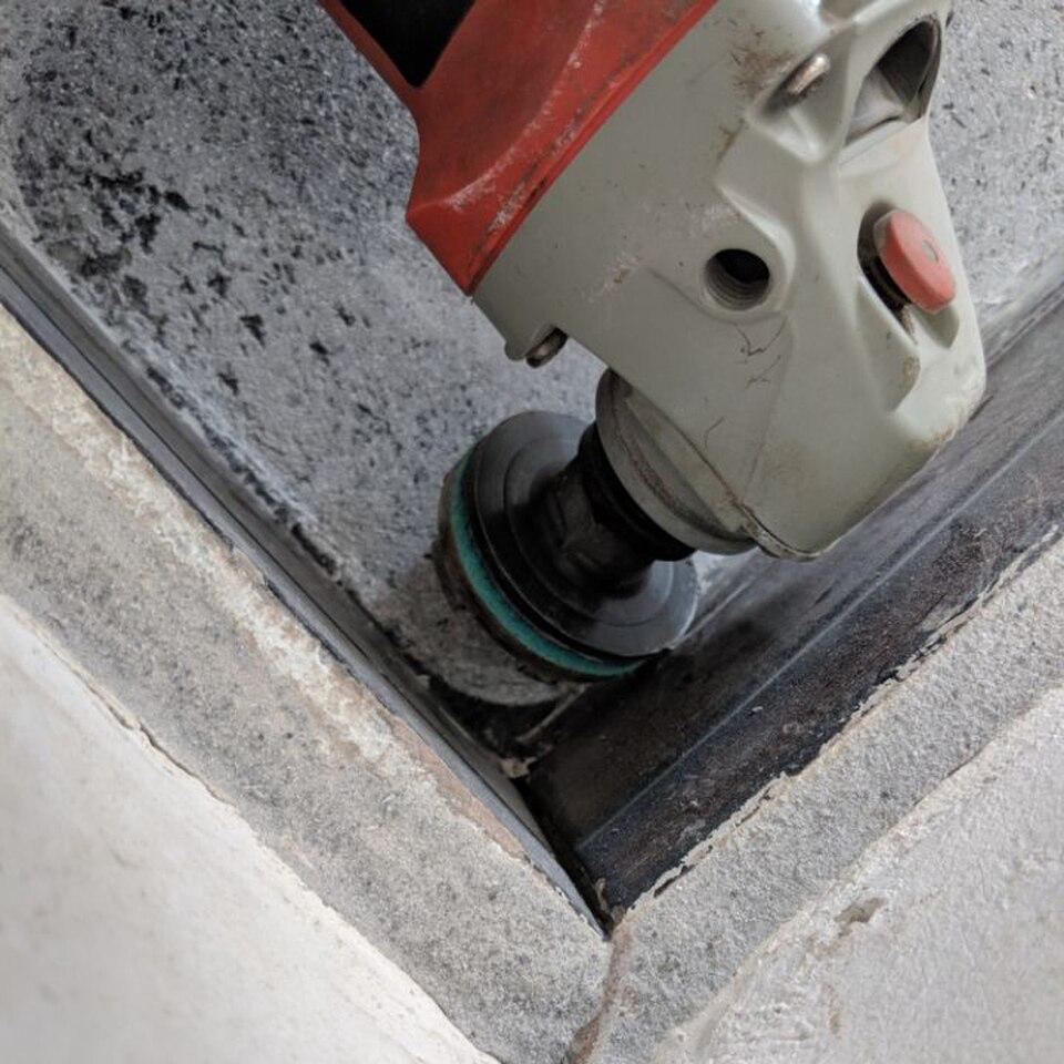 M/ármol Granito y Piedra Natural Muela a Taza Diamante para Hormig/ón Piedra Natural Ladrillo Disco de Diamante para Amoladora 230mm x22,2 mm de APLUS