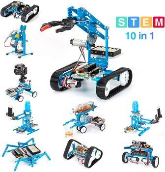 Makeblock DIY Ultimate Robot Kit - Premium Quality - 10-in-1 Robot - STEM Education - MegaPi - Scratch 2.0 for Kids, Age 14+