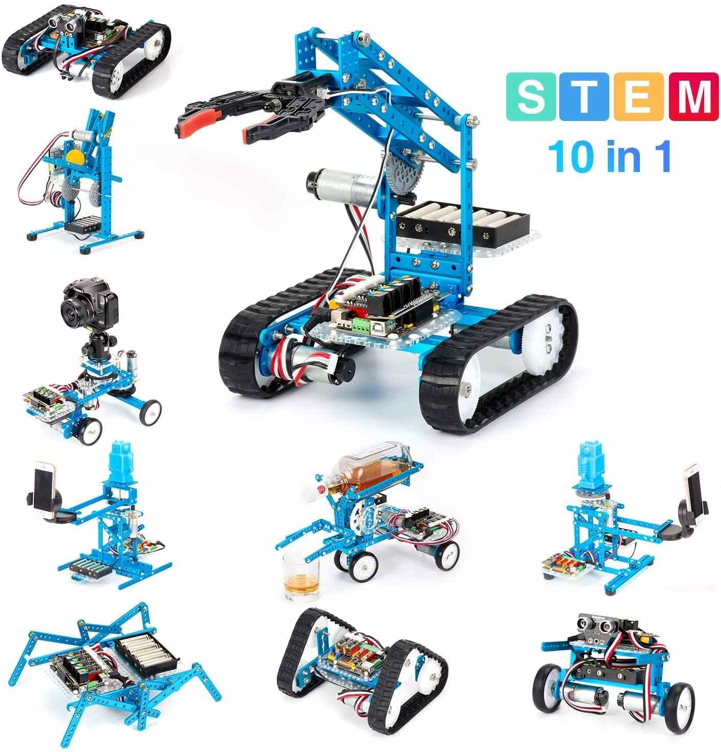 Makeblock diy 究極ロボットキット-プレミアム品質-10 イン 1 ロボット幹教育 megapi アンチスクラッチ 2.0 子供のための、年齢 14 +